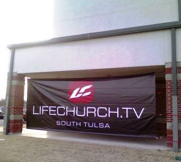 South Tulsa Campus Sign